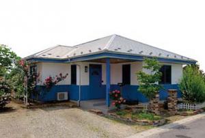 青い風の住宅建築