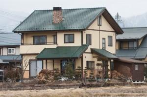 安曇野市木造住宅