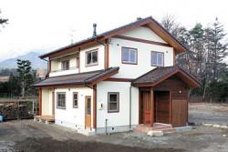 塗り壁の家