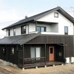 松川村 板張りの家 A邸