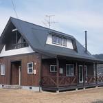池田町 板張りの家 K邸