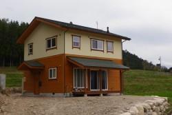 板張り住宅