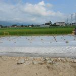 池田町 E邸新築工事 基礎工事始まる。